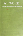 Her published letters to her mother
