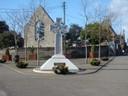 Memorial Celtic Cross in Raheny Village