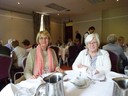 Members enjoying lunch in Brandon House Hotel